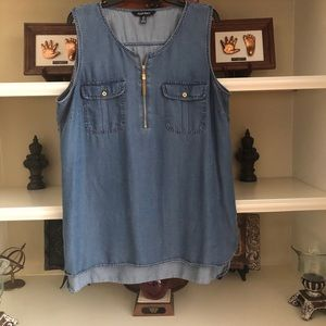 Ellen Tracy sleeveless shirt